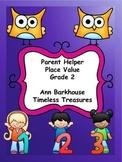 Parent Helper Place Value with Tens