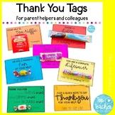 Parent Helper Thankyou Gift Tags