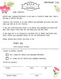 Parent Homework Letter