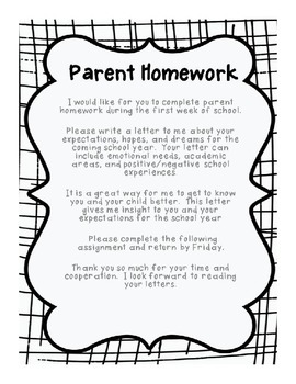 Parent Homewrk