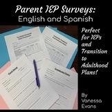 Parent IEP Surveys: English and Spanish