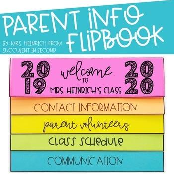 Parent Info Flipbook