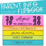 Parent Info Flipbook