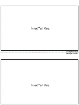 Parent Information Booklet Template {5 Tabs}- EDITABLE TEXT