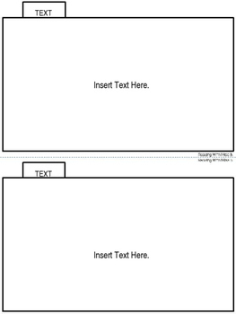 parent information booklet template 5 tabs editable text tpt