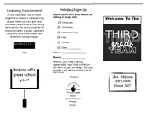 EDITABLE Parent Information Brochure