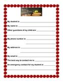 Parent Information Form