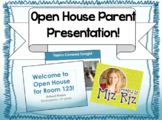 Open House Parent PowerPoint! {Editable for YOUR class!}