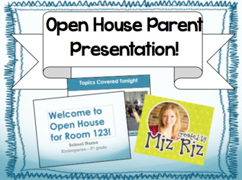 Parent Information Night PowerPoint