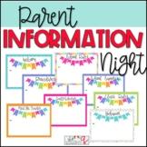 Parent Information Night/Open House PowerPoint Presentation