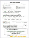 Parent Information for IEP Case Manager