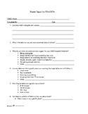 Parent Input Form for BIP/FBA