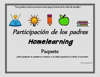 "Parent Involvement--""A How To..."" in English & Spanish"