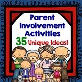 Parent Involvement Activities with Pizzazz!