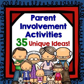 Parent Involvement Activities with Pizzazz!