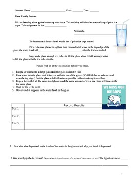 Parent Involvement: Interactive Science Homework for grades 4 to 6