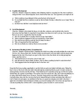 Parent Letter About Reading