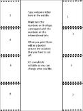 Parent Letter Foldable Template