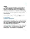 Parent Letter RE: Student Blogging