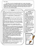 Parent Letter: Struggling Writer Grades 2-6