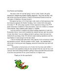 Parent Letter (for student teaching)
