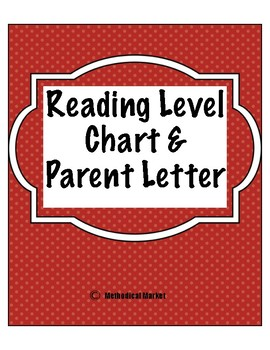 Parent Letter on Reading Levels