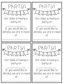 Parent Letters for the WHOLE YEAR!