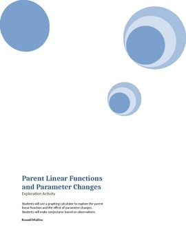 Parent Linear Function and Parameter Changes