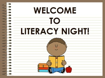 Back to School Literacy Night Presentation