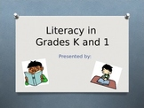 Parent Literacy Workshop