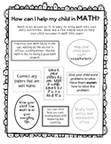 Parent Math Note