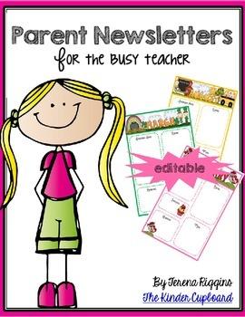 Parent Newsletter (Editable)