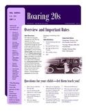 Parent Newsletter - Roaring 20s