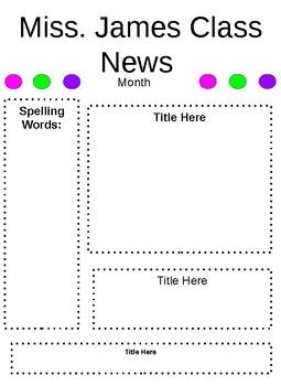 Parent Newsletters