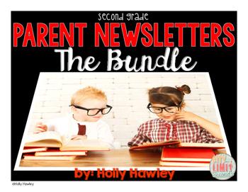 Parent Newsletters BUNDLE Lessons 1-29