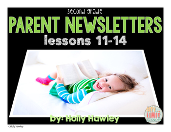 Parent Newsletters- Lessons 11-14 Grade 2