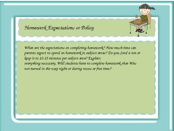 Parent Night, Open House, Parent Orientation Kids Theme Power Point template