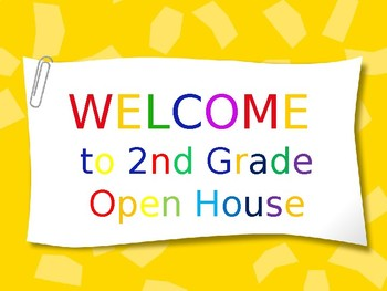 Parent Night/Open House Presentation