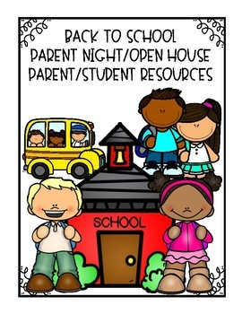 Parent Night/Open House resources