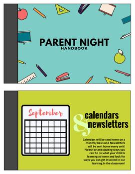 Parent Night Pack