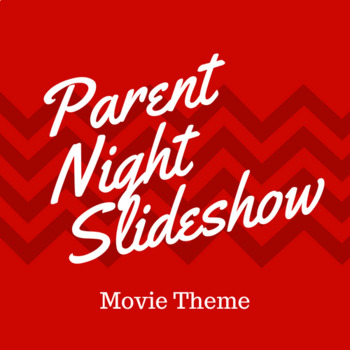 Parent Night PowerPoint - Hollywood Theme