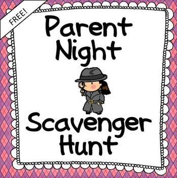 Parent Night Student-Led Scavenger Hunt