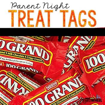 Parent Night Treat Tags
