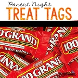 Parent Night Treat Tags