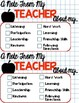 Parent Note Template