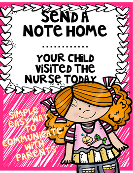 Parent Note: Your Child Was Sick Today