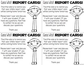 Parent Notes