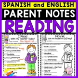Parent Notes Home | Bilingual English and Spanish Communic