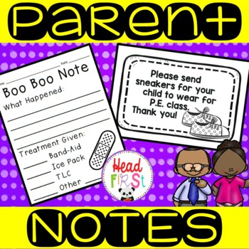 Parent Notes and Forms