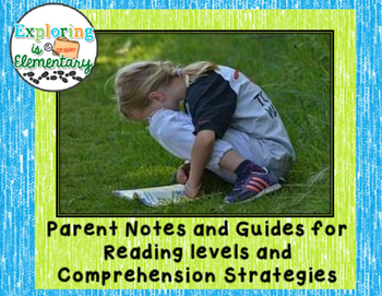Parent Notes for Reading Help